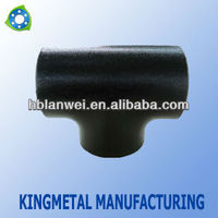 Carbon Steel Pipe Fittings Black Tee SCH40