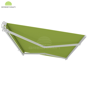 High quality Aluminum profile folding arm awning outdoor retractable porch awnings