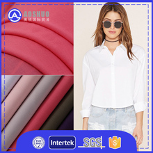 Hot Sale 100 Cotton Fabric For T-Shirt 220 Gsm Cotton T Shirt Fabric Woven Cheap 80 Cotton 20 Polyester Fabric Rolls