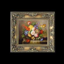 Cheap Decorative Ornate Plastic Insert Carved Picture Frames with Beautiful Flower