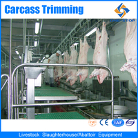pig pork processing plant machinery