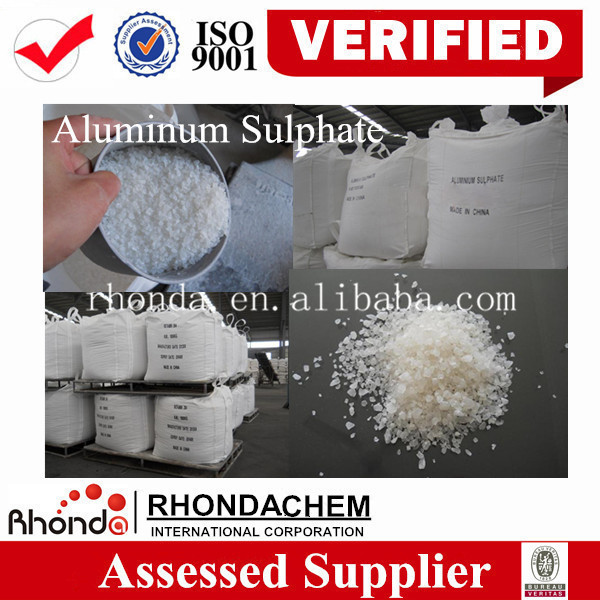 The largest supplier in China high quality for oil refinery water treatment flake aluminum sulfate