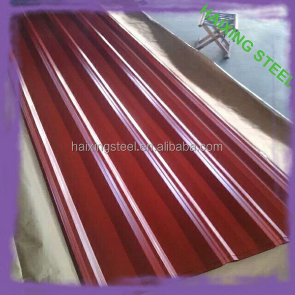 2017 hot sale Color Steel Plate Material and galvanized corrugated iron sheet for roofing Type galvanized iron plain sheet