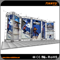 Exhibition cheap aluminum stage truss system for display