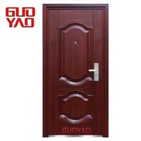 China Alibaba Top Suppliers New design low price main entrance front entry steel security doors