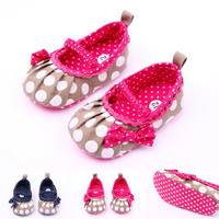 kids shoes manufacturers china fashion children shoes toddler loafer shoes with polka dot