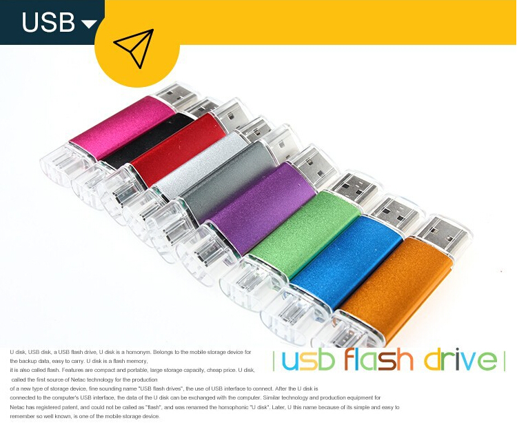 Wholesale Custom Logo 4Gb 8Gb 32Gb Otg Chip Bulk Usb Flash Drive