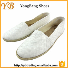 New design flat soft sole casual style PU shoes for women