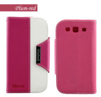 Jewelry Cell Phone Leather Case For Samsung Galaxy S3 I9300