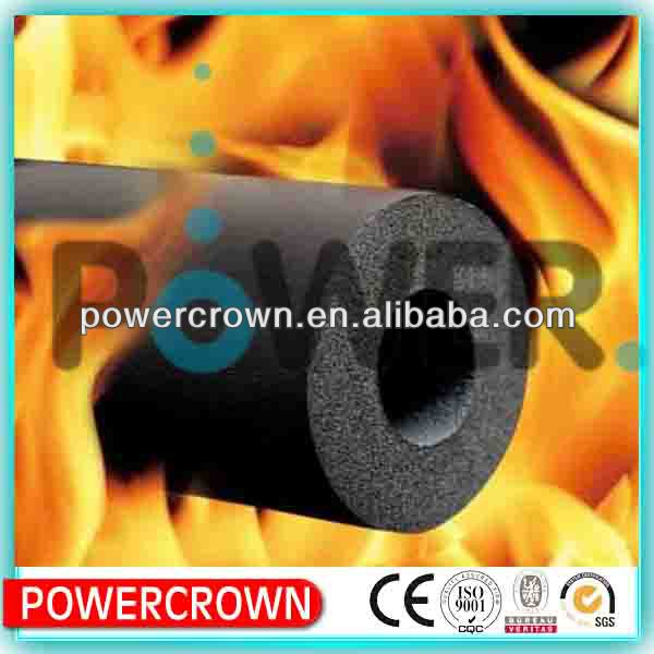 Best quality and competitive price about NBR/PVC rubber foam heat insulation building material with aluminum foil