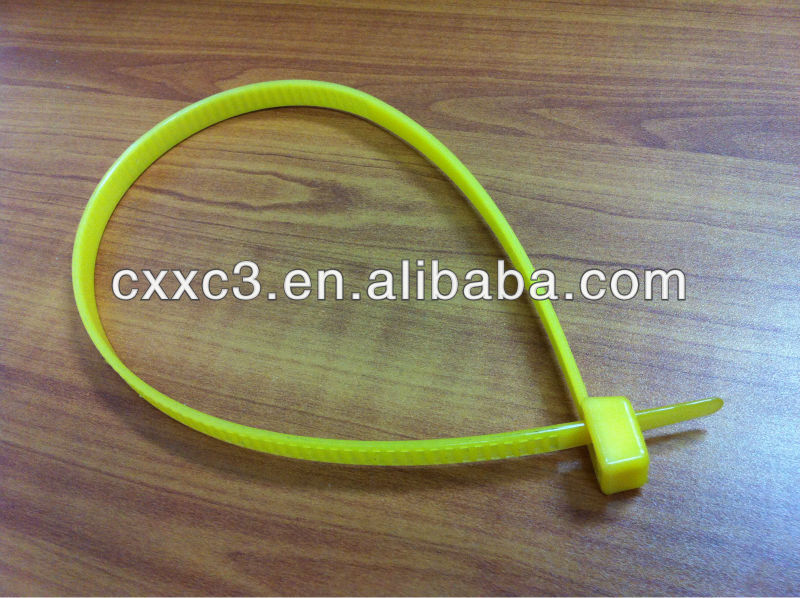 Double loop Unbreakable Disposable Plastic Soft Handcuff