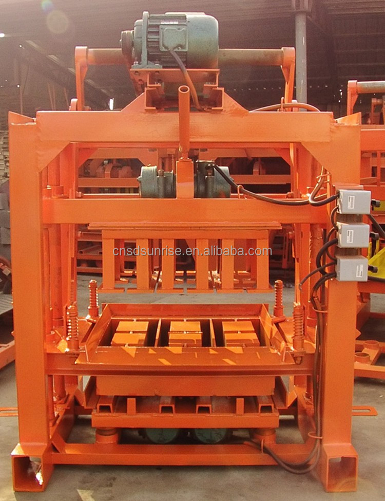 cement interlocking block making machine small scale production