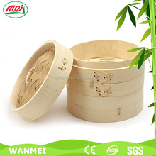 Eco-friendly small mini food bun steamer