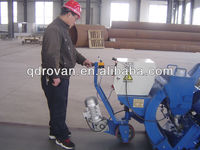 Floor shot blasting machine removes marking, dirt and old coatings