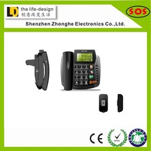Old model telephones desktop telephone emergency one button telephone