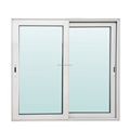 Custom design aluminum frame double glass sliding aluminum window for home comply with Australian Standard