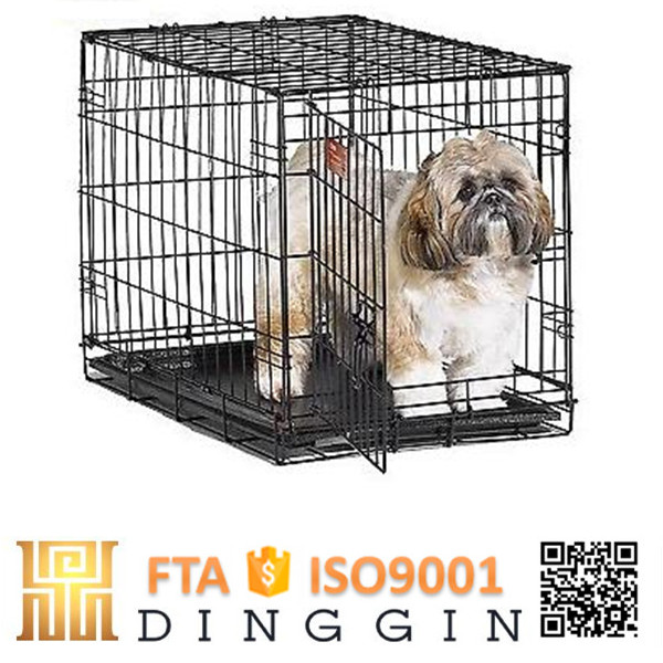 Ready made steel dog cage