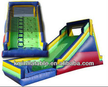16' rock wet dry inflatable slide