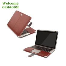 21 inch leather hard cover custom laptop case hard shell laptop case