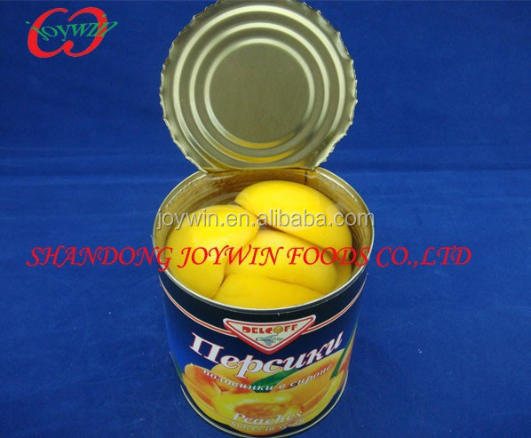 Canned peaches halves/slices new