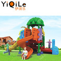 Hot selling children exercise equipment kids playground outdoor plastic slide
