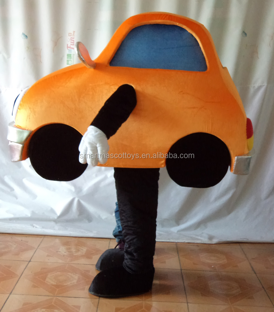 Wholesale custom adult car costume car mascot costumes
