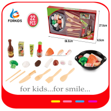 Funny plastic toy mini food kitchen set,Japanese kids toy set