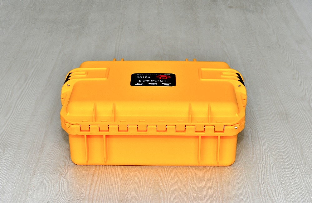 Tricases M2100 hard case Waterproof plastic equipment case with nice look