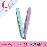 PROFESSIONAL EYEBROW TWEEZERS HAIR BEAUTY SHARP POINTED STAINLESS STEEL TWEEZER