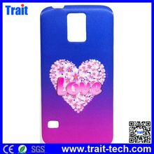 3D Effects Love Heart Pattern TPU Back Cover Case for Samsung Galaxy Note 3 N9000 N9002 N9005 N9006