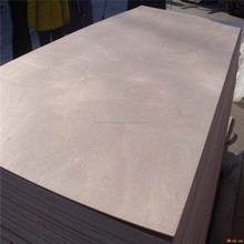 18MMX1220X2440 okoume face poplar core Eo glue furniture plywood