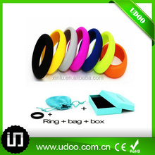2016 Novelty silicone o ring,anti-bacteria silicone wedding ring
