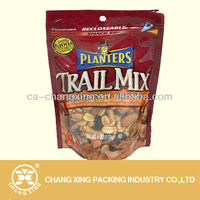 stand up laminated poly bag dried fruit and nuts