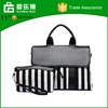 2016 Fashion Design Zebra Stripe The Pu Handle Canvas Handbag