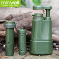 survival emergency water purifier or traveling personal water filter