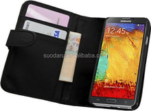 PU Leather Wallet Case Pouch Cover for Samsung Galaxy Note 3 III N9000