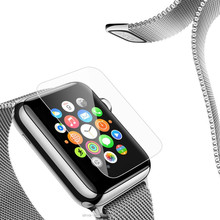 Ultra-thin protective for apple watch 38 42 tempered glass film screen protector,tempered glass protector screen for applewatch