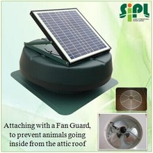 SUNNY FAN Solar Energy Super Air Ventilation New Product roof mounted 12 inch Attic Air Exhaust Fan Heat Extractor Fan