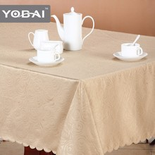 Easter Embossed Design Tablecloth Cleaning Fabric Painting Embossed Table Cloth