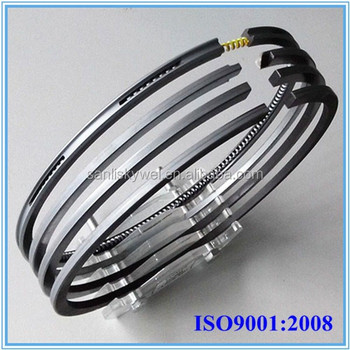 6N18AL piston rings fit for yanmar marine engines