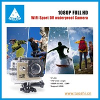 Full HD 1080P 12MP Car Cam Sports DV Action Waterproof wifi Camera mini car camera