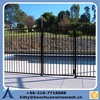 2015 New Desigh Cheap Stainless swimming Steel Metal Fence/Iron Pool Fence