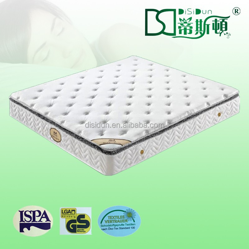Good-quality knitted fabric natural latex rubber mattress DS-LPZ006