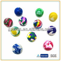 Mixed colorful 32mm small bounce ball