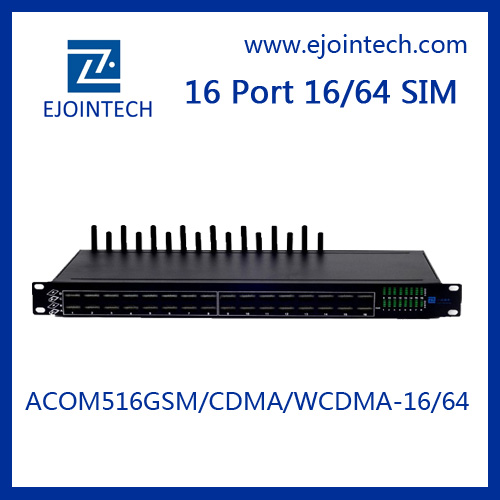 15% promotion on ejointech 16 ports gsm zigbee gateway for unlimited internet call
