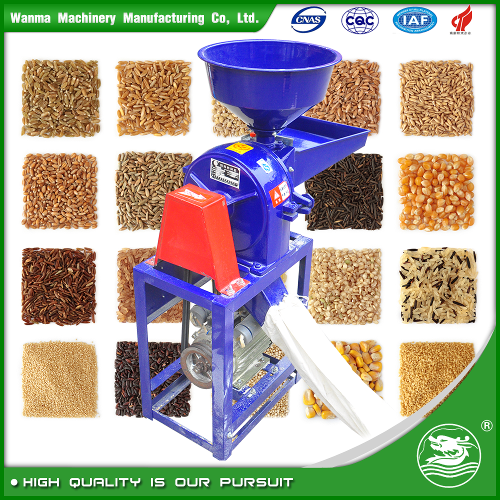 WANMA2725 Mobile Small Corn Mill Grinder For Sale