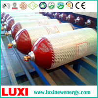 CNG-2-406-100 ISO11439:2013 lock gas cylinder cng oxygen cylinder price wholesales china