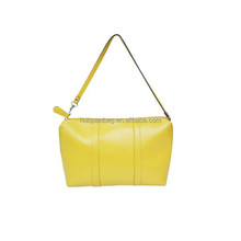 Customized waterproof cheap yellow woman sling bag shoulder bag for girls