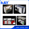 Reusable modular outdoor exhibition booth