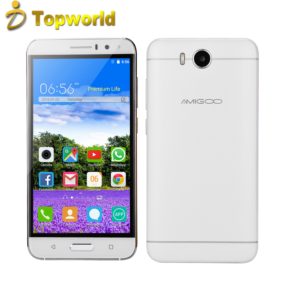 "2017 New <strong>Android</strong> 5.1 Amigoo X18 Cell <strong>Phone</strong> MTK6580 Quad Core 8G ROM Beauty Camera 2500mAh 5.5"" QHD Dual Sim 5.0MP Mobile <strong>Phone</strong>"